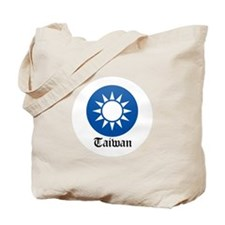 Taiwanese Coat of Arms Seal Tote Bag