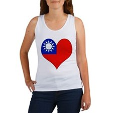 I Love taiwan Women's Tank Top