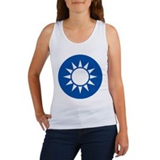 taiwan Coat of Arms Women's Tank Top