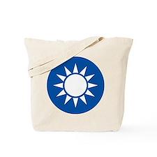 taiwan Coat of Arms Tote Bag