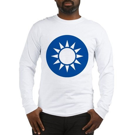 taiwan Coat of Arms Long Sleeve T-Shirt