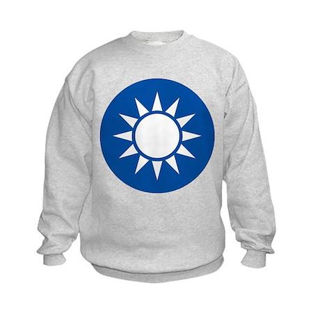 taiwan Coat of Arms Kids Sweatshirt
