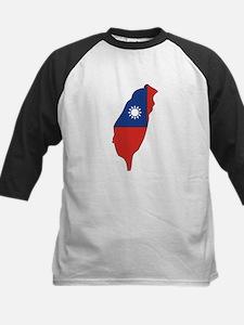 taiwan Flag Map Tee