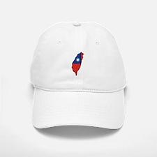 taiwan Flag Map Baseball Baseball Cap