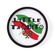 Little Taquito Wall Clock