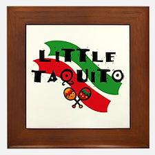 Little Taquito Framed Tile
