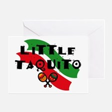 Little Taquito Greeting Card