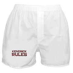 kendrick rules Boxer Shorts