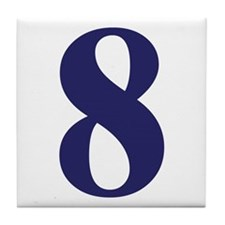 Number eight Tile Coaster