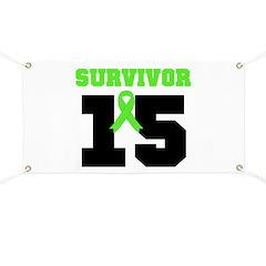Lymphoma Survivor 15 Year Banner