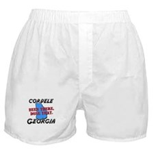 cordele georgia - been there, done that Boxer Shor