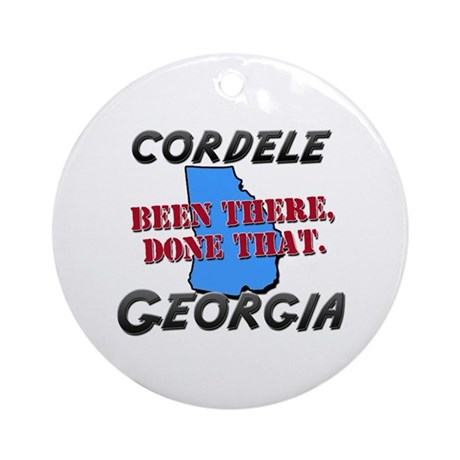 cordele georgia - been there, done that Ornament (