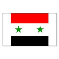 Syrian Rectangle Decal