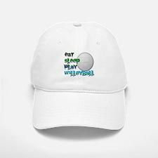 Eat sleep volley 2 Baseball Baseball Cap
