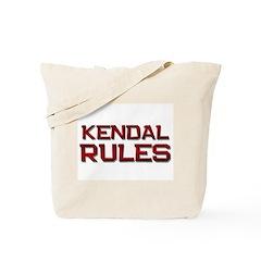 kendal rules Tote Bag