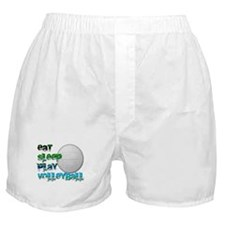 Eat sleep volley 2 Boxer Shorts