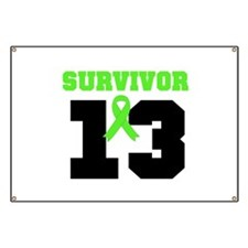 Lymphoma Survivor 13 Year Banner