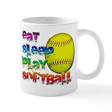 Eat sleep soft 2 Mug