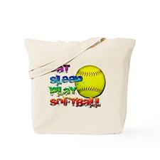 Eat sleep soft 2 Tote Bag