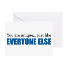 You Are Unique Greeting Cards (Pk of 10)