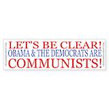 Anti liberal democrat Bumper Stickers