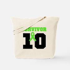 Lymphoma Survivor 10 Years Tote Bag