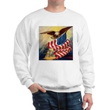 """Eagle with Flag"" Jumper"