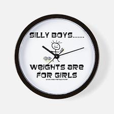 Silly Boys Wall Clock