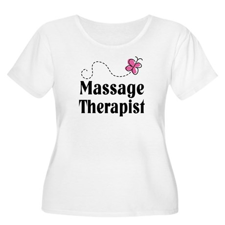 Pretty Massage Therapist Women's Plus Size Scoop N