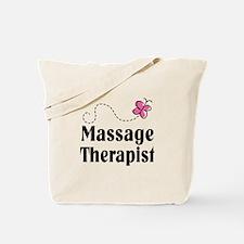 Pretty Massage Therapist Tote Bag