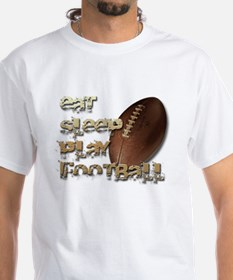 Eat sleep football Shirt