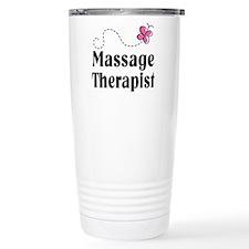 Pretty Massage Therapist Travel Mug