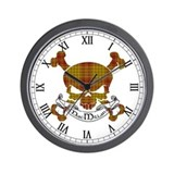 Clan macmillan Wall Clocks