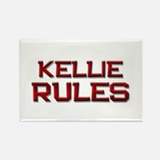 kellie rules Rectangle Magnet