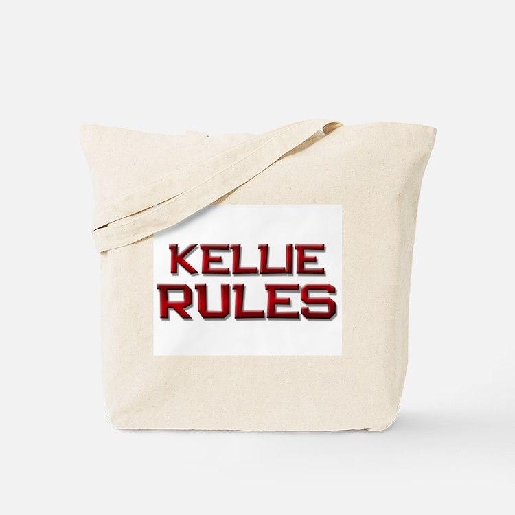 kellie rules Tote Bag