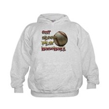 Eat sleep baseball Hoody