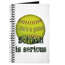 Softball is serious Journal
