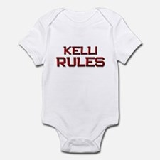 kelli rules Infant Bodysuit