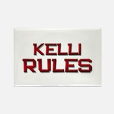 kelli rules Rectangle Magnet
