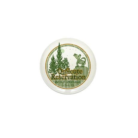 Quileute Wolf Refuge Mini Button
