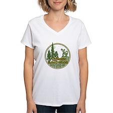 Quileute Wolf Refuge Women's V-Neck T-Shirt