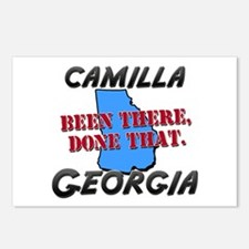 camilla georgia - been there, done that Postcards