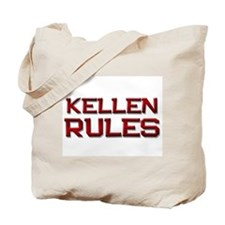 kellen rules Tote Bag