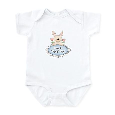 Hoppy Day Bunny Easter Infant Bodysuit