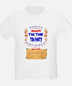Tax Time Tea Party T-Shirt