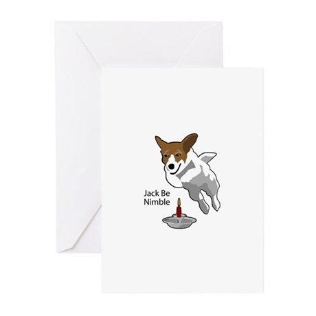 Jack Be Nimble Greeting Cards (Pk of 10)