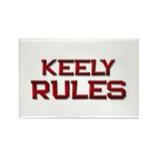 keely rules Rectangle Magnet