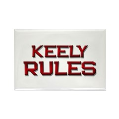 keely rules Rectangle Magnet (10 pack)
