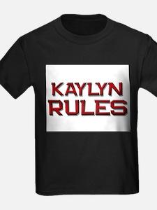 kaylyn rules T