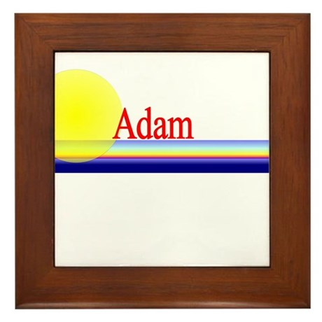 Adam Framed Tile